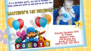 Pocoyo Birthday Party Invitations Pocoyo Birthday Party Invitations Printables by