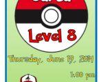 Pokemon Birthday Party Invitation Wording Birthday Invites Pokemon Birthday Invitations Printable