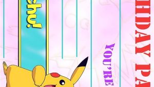 Pokemon Birthday Party Invitation Wording Pokemon Birthday Invitation