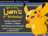 Pokemon Birthday Party Invitation Wording Pokemon Birthday Invitations Free Egreeting Ecards