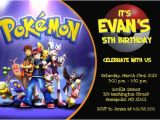 Pokemon Birthday Party Invitation Wording Pokemon Birthday Invitations Ideas Bagvania Free
