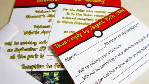 Pokemon Wedding Invitations Pokemon Wedding Invitations by My Way13 On Deviantart