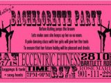 Pole Party Invitations Miss Fit Academy Pole Dance Party Invitations