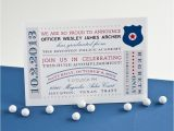 Police Academy Graduation Invitation Wording Police Academy Graduation Printable Invitation