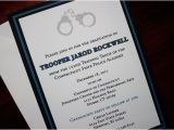 Police Academy Graduation Invitation Wording Thin Blue Line Police Academy Graduation Announcement or