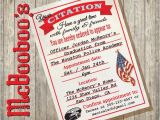 Police Academy Graduation Party Invitations Police Academy Graduation or Retirement Party Citation