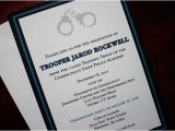 Police Academy Graduation Party Invitations Thin Blue Line Police Academy Graduation Announcement or