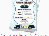 Police Party Invitation Templates Police Birthday Party 5m Creations Blog