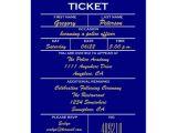 Police Wedding Invitations Navy Blue Ticket Police Graduation Invitations Zazzle Com