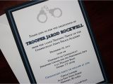 Police Wedding Invitations Thin Blue Line Police Academy Graduation Announcement or