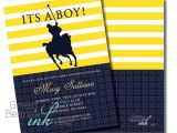 Polo themed Baby Shower Invitations 17 Best Images About Baby Shower themes On Pinterest