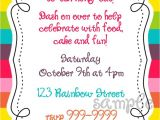 Pony Party Invitation Templates Impressive My Little Pony Blank Invitations Like Rustic
