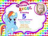 Pony Party Invitation Templates My Little Pony Birthday Party Invitations Free Printable