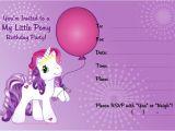 Pony Party Invitation Templates My Little Pony Free Printable Invitation Templates