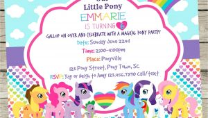 Pony Party Invitation Templates My Little Pony Invitation Template Resume Builder