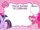 Pony Party Invitation Templates Updated Free Printable My Little Pony Birthday