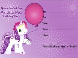 Pony Party Invites Free Printable My Little Pony Invitation Free Printable