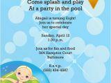 Pool Party Birthday Invitation Wording Pool Party Invitation Wording – Gangcraft