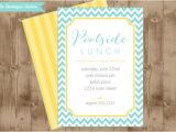 Pool Party Bridal Shower Invitations Diy Printable Party Invitation Poolside Lunch Bridal