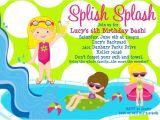 Pool Party Invitation Ideas Birthday Pool Party Invitations