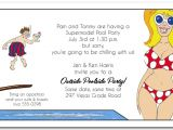 Pool Party Invitation Ideas for Adults Adult Pool Party Invitations
