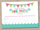 Pool Party Invitation Template 45 Pool Party Invitations Kitty Baby Love