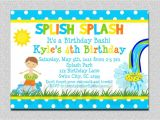 Pool Party Invitations for Kids 18 Birthday Invitations for Kids Free Sample Templates