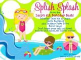 Pool Party Invitations Free Printable Free Printable Birthday Pool Party Invitations Free