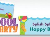 Pool Party Invitations Party City Custom Summer Party Invitations Party City