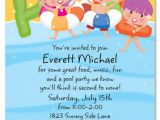 Pool Party Invitations Party City Free Download Kids Invitation Swimming orderecigsjuice Info