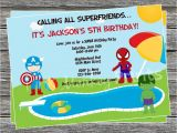 Pool Party Invitations Party City Homemade Pool Party Invitation Ideas Homemade Ftempo