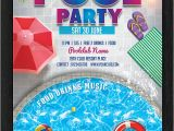 Pool Party Invitations Templates 28 Pool Party Invitations Free Psd Vector Ai Eps