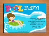 Pool Party Invitations with Photo Free Printable Birthday Pool Party Invitations Drevio