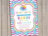 Pool Party Invitations with Photo Pool Party Invitation Kids Pool Party Invitation Pool