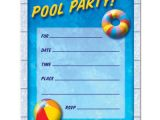 Pool Party Invites Free Pool Party Birthday Invitations Ideas Bagvania Free