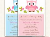 Pop Up Baby Shower Invitations Owl Baby Shower Invitations Printable Diy for Boy and with