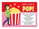 Popcorn Baby Shower Invitations Popcorn Baby Shower Invitation Zazzle