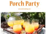 Porch Party Invitation Host A Porch Party
