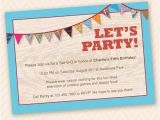 Porch Party Invitation Outdoor Fun Birthday Party Invitation