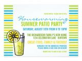Porch Party Invitation Summer Housewarming Patio Party Invitation
