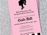 Postcard Size Bridal Shower Invitations Classic Barbie Bridal Shower Invitations these Can Be