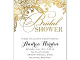 Postcard Size Bridal Shower Invitations Gold Lace Bridal Shower Invitation