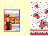 Postman Pat Party Invitations Postman Pat themed Party Decorations