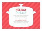 Potluck Christmas Party Invitation Wording Holiday Potluck Invitation Wording