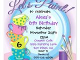 Pottery Painting Party Invitations Ceramic Pottery Painting Party Invitations Zazzle