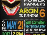 Power Ranger Birthday Invitations 13 Power Rangers Party Ideas Pretty My Party