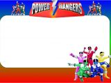 Power Ranger Birthday Invitations Free Power Rangers Free Printable Invitations Oh My Fiesta