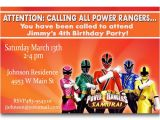 Power Ranger Birthday Invitations Power Rangers Birthday Invitations Ideas – Bagvania Free