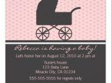 Pram Baby Shower Invitations Pram Baby Shower Invitation