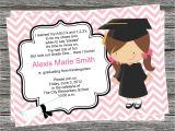 Pre K Graduation Invitations Diy Girl Pre K or Kindergarten Graduation Invitation